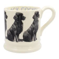BCK010002 - EMMA BRIDGEWATER BLACK COCKER 1/2 PINT MUG