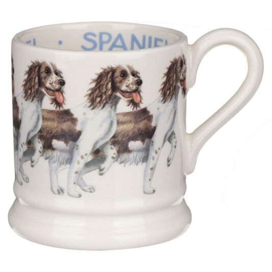 Emma Bridgewater Dogs Brown & Cream Spaniel Half Pint Mug