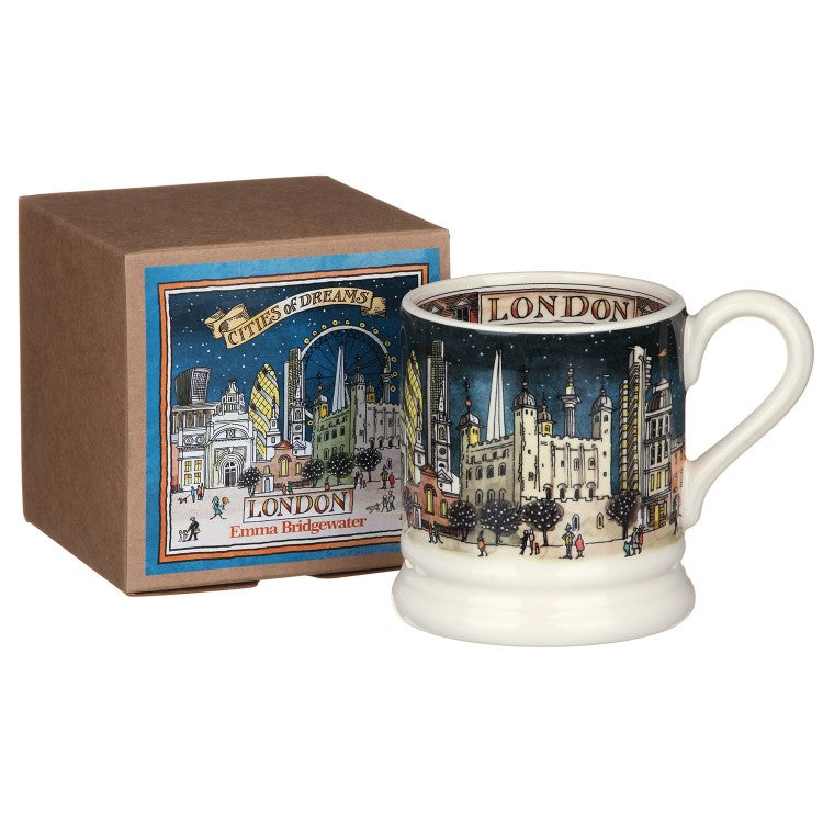 London At Night Half PInt Mug