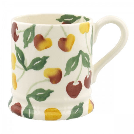 CHE010002 - EMMA BRIDGEWATER SUMMER CHERRIES 1/2 PINT MUG