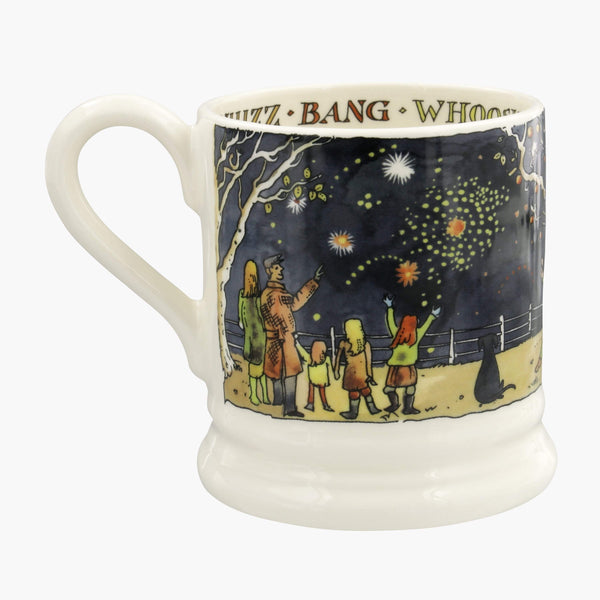 Bonfire Night Scene 2019 1/2 Pint Mug