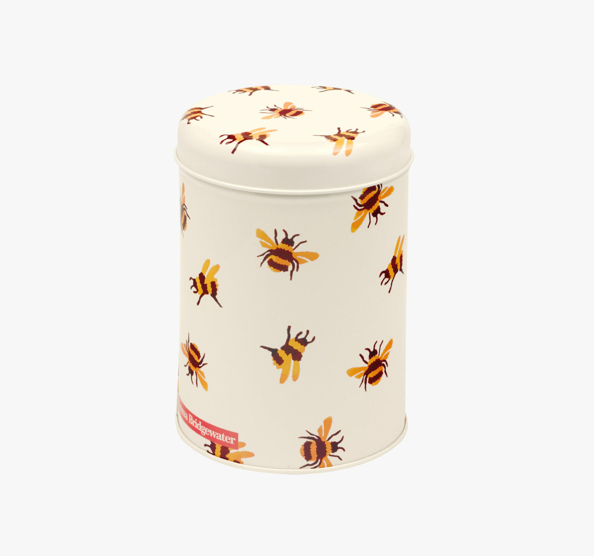 Bumble Bee Round Tin Caddy