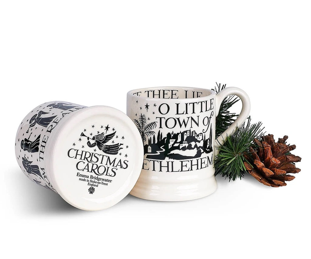 Christmas Carols 1/2 Pint Mug Set