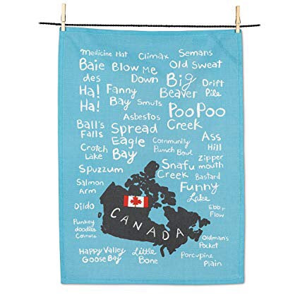 Funny Names Tea Towel