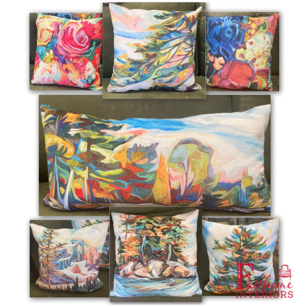 Julia Veenstra Toss Pillows