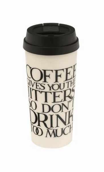 Black Toast Thermal Mug