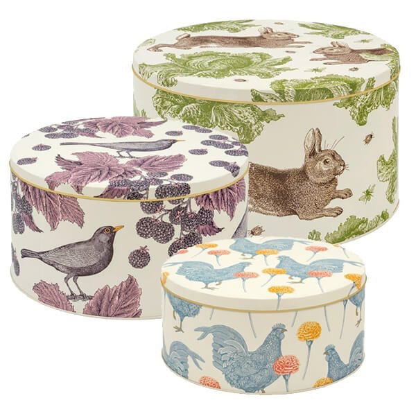 Thornback & Peel large , medium, small cake tins