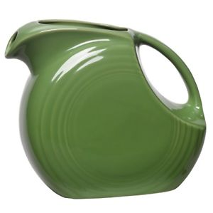 FIESTA DINNERWARE LARGE DISC PITCHER 2 QT