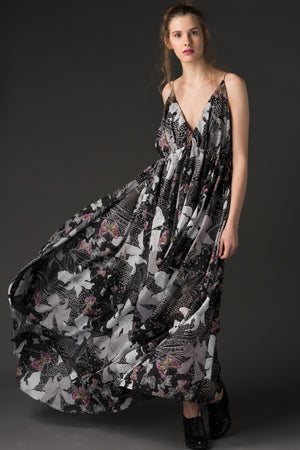 Sonja - Printed Maxi Dress