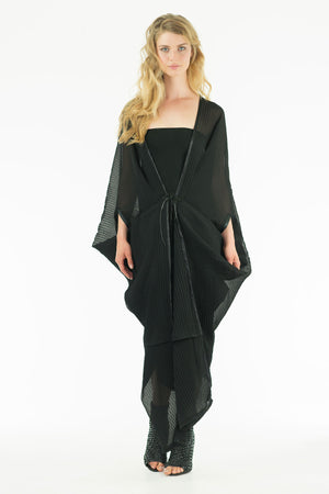 Vamp Cape - Tunique Dress - Folded Draped Tunique - Summer Collection - Oscar Mendoza