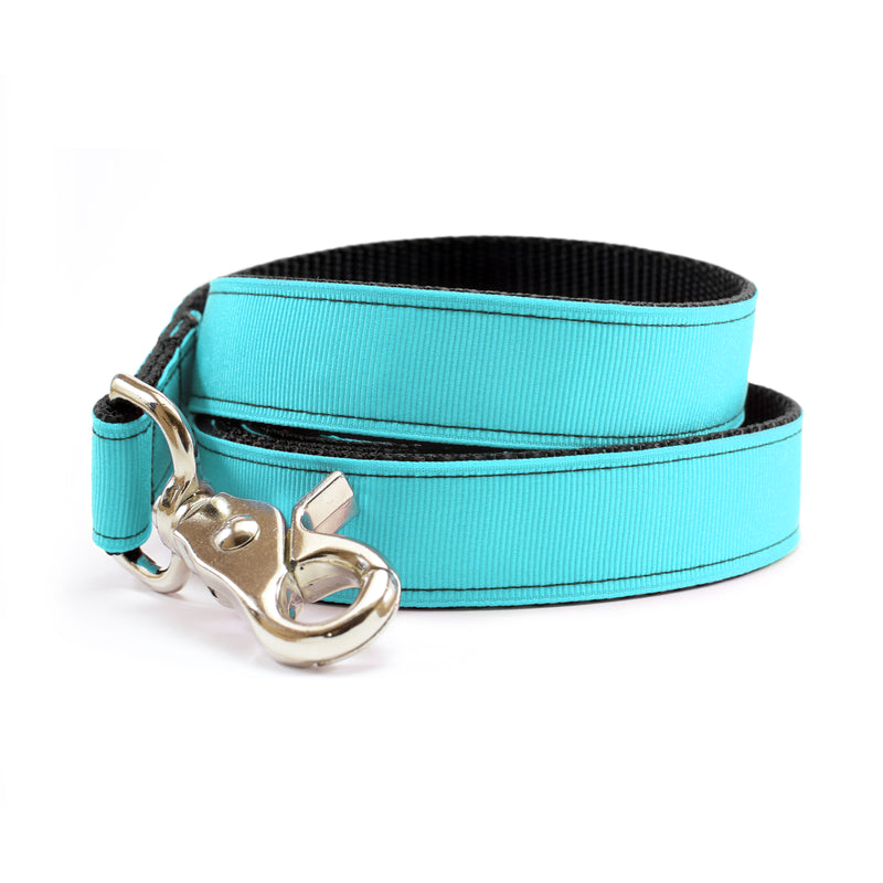 Morning Glory Blue Dog Leash | MATTIE + MARGOT