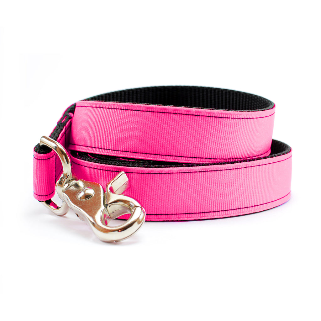 Neon Pink Dog Leash | MATTIE + MARGOT