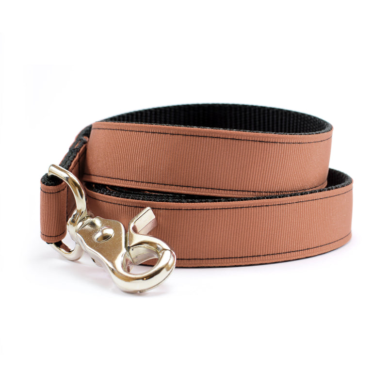 Pecan Brown Dog Leash | MATTIE + MARGOT