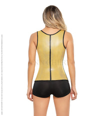 Ann Chery 2048 Metallic Latex Vest - Ann Chery Colombia