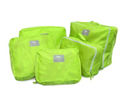 TRAVEL CUBES by nuColor (5 pcs set) GREEN