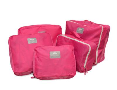TRAVEL CUBES by nuColor ( 5 pcs set) PINK