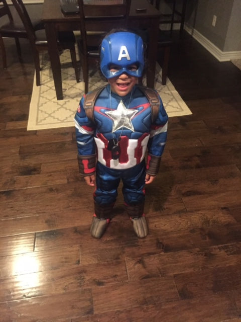 Allie Captain America