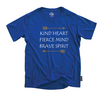 Kind Fierce Brave Graphic tee