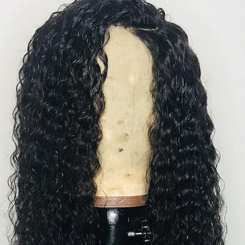 'Supreme Wavy' - 100% Virgin Hair Wavy Closure Wig