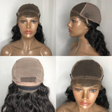 'Sasha' - 100% Virgin Hair, Wavy Lace Front Bob Wig