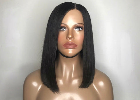 """Jaded"" - 100% Virgin Hair Bob Wig"