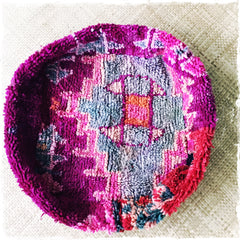 "Adorable Moroccan ""Boujad"" Pouf FREE SHIPPING IN US - Honorooroo Lifestyle"