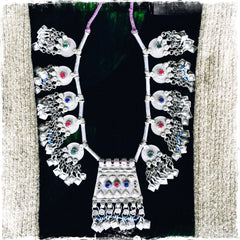 Afghani Tribal Statement Kuchi Necklace