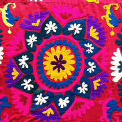 Suzani Textiles, Hand-embroidered Tablecloths and Throws - Honorooroo Lifestyle