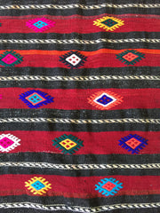 TURKISH KILIM RUG| Kadri| Vintage | Runner| Oushak Handwoven |One of a Kind| Boho Kilim|4.1 x 11