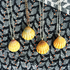 Sunrise Shell Necklaces|46/47/48/49 - Honorooroo Lifestyle