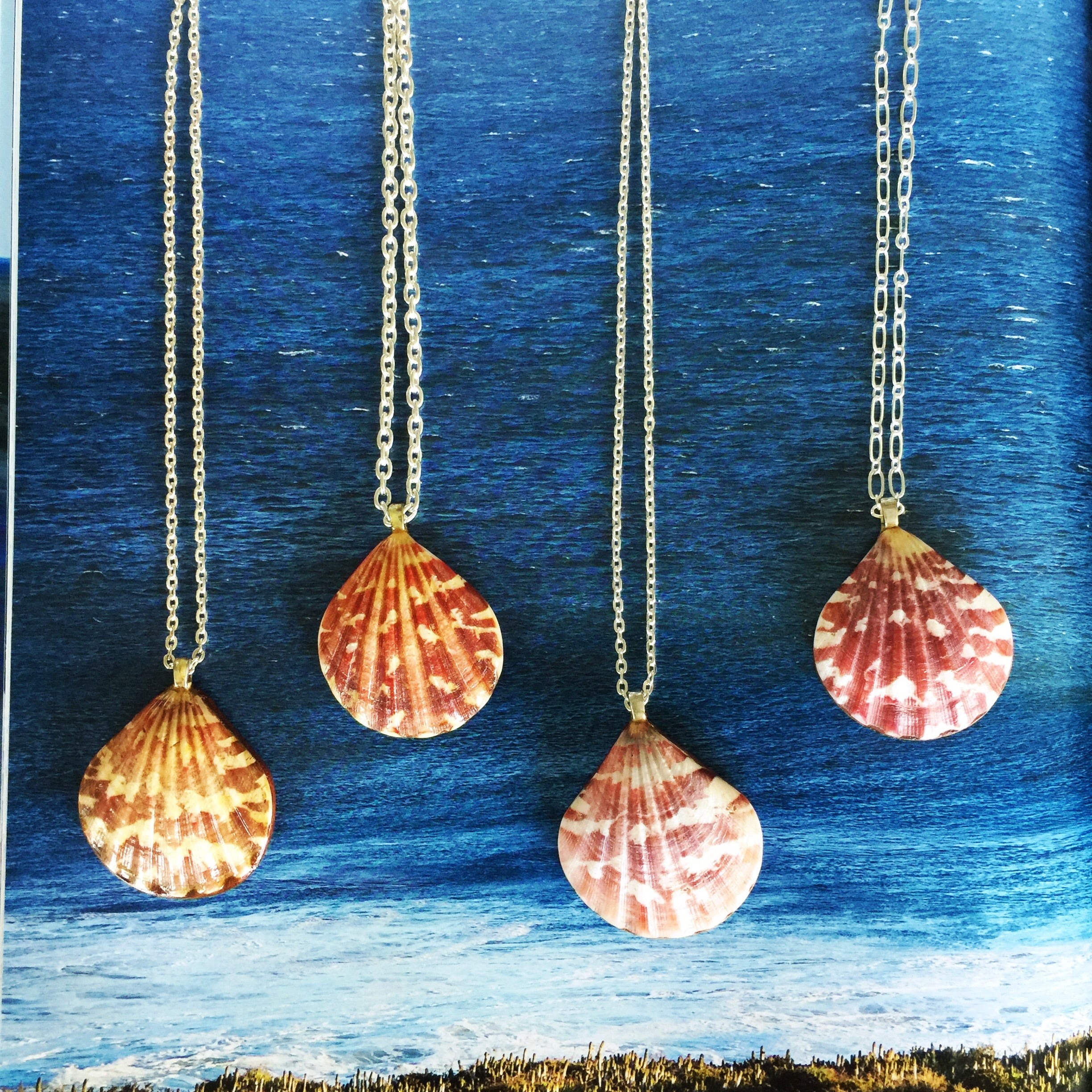 Sunrise Shell Necklaces| 42-45 - Honorooroo Lifestyle