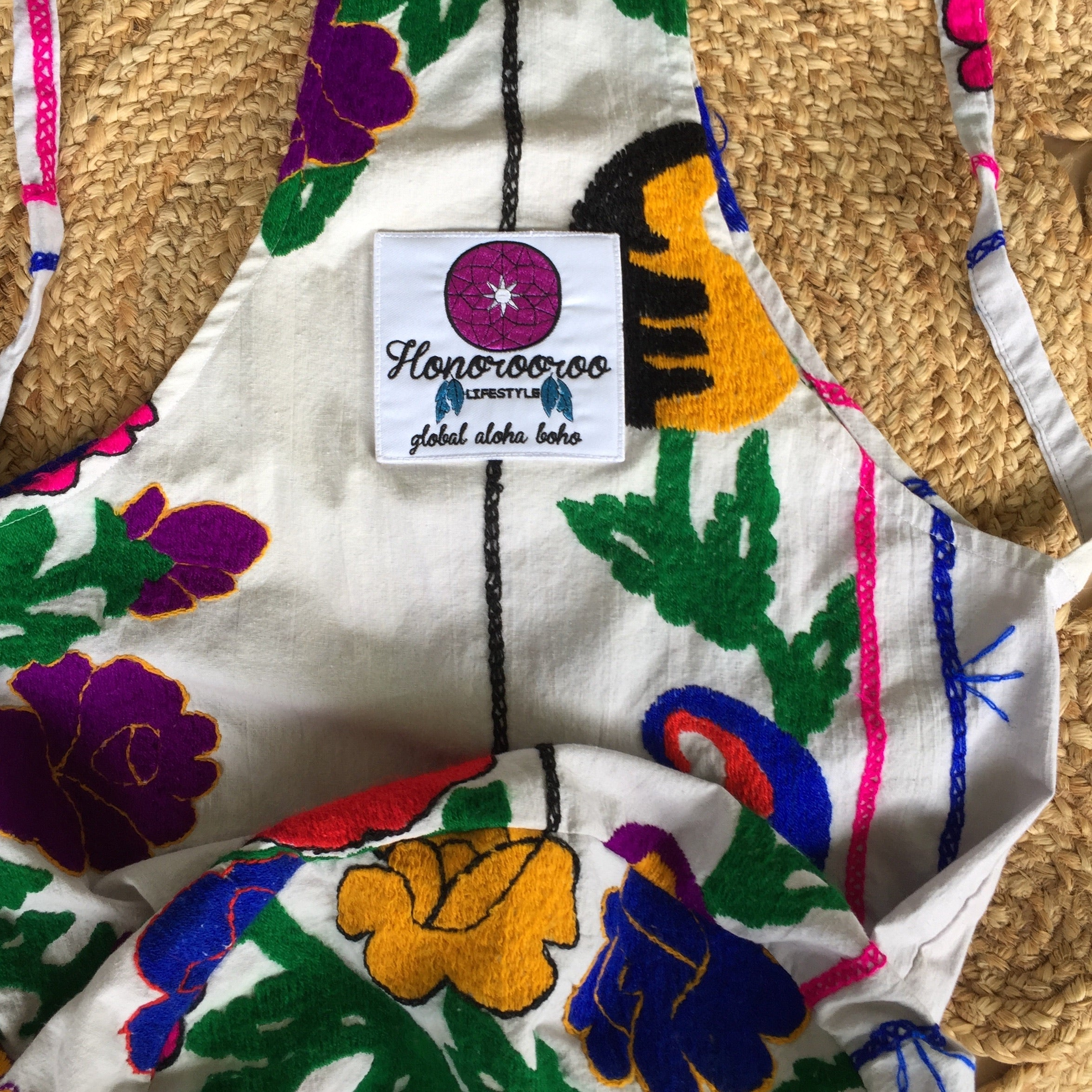 SUZANI SLING BAG|Embroidered Accessories|RAINBOW OAXACA - Honorooroo Lifestyle