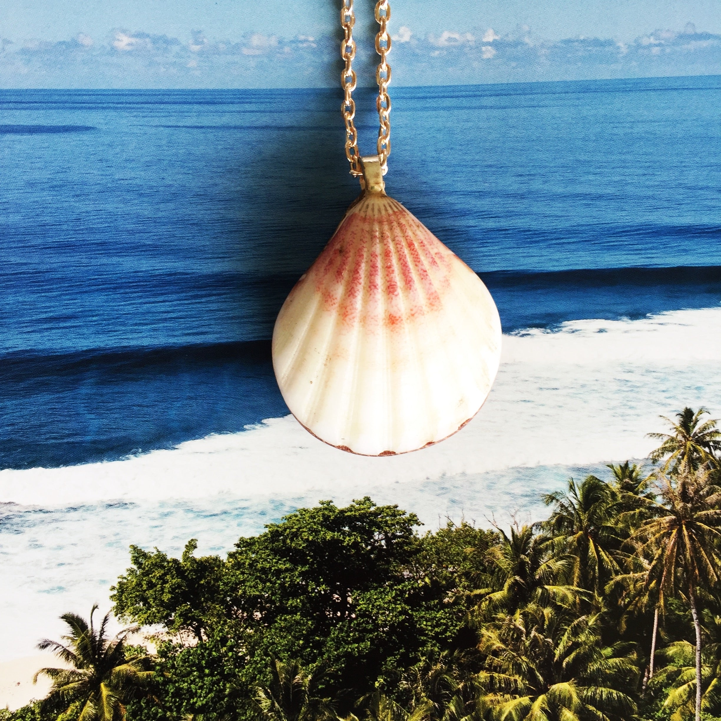 Hawaiian Sunrise/Moonrise Shell pendants| Beach Jewelry|15 - Honorooroo Lifestyle