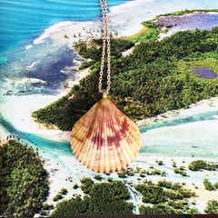 Sunrise Shell Necklaces| Hawaiian Sunrise/Moonrise Shell pendants| Beach Jewelry |11 - Honorooroo Lifestyle