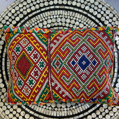 Moroccan Vintage Aziza Kilim Pillow - Honorooroo Lifestyle