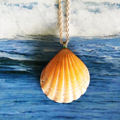 Sunrise Shell Necklaces| Hawaiian Sunrise/Moonrise Shell pendants| Beach Jewelry|24 - Honorooroo Lifestyle