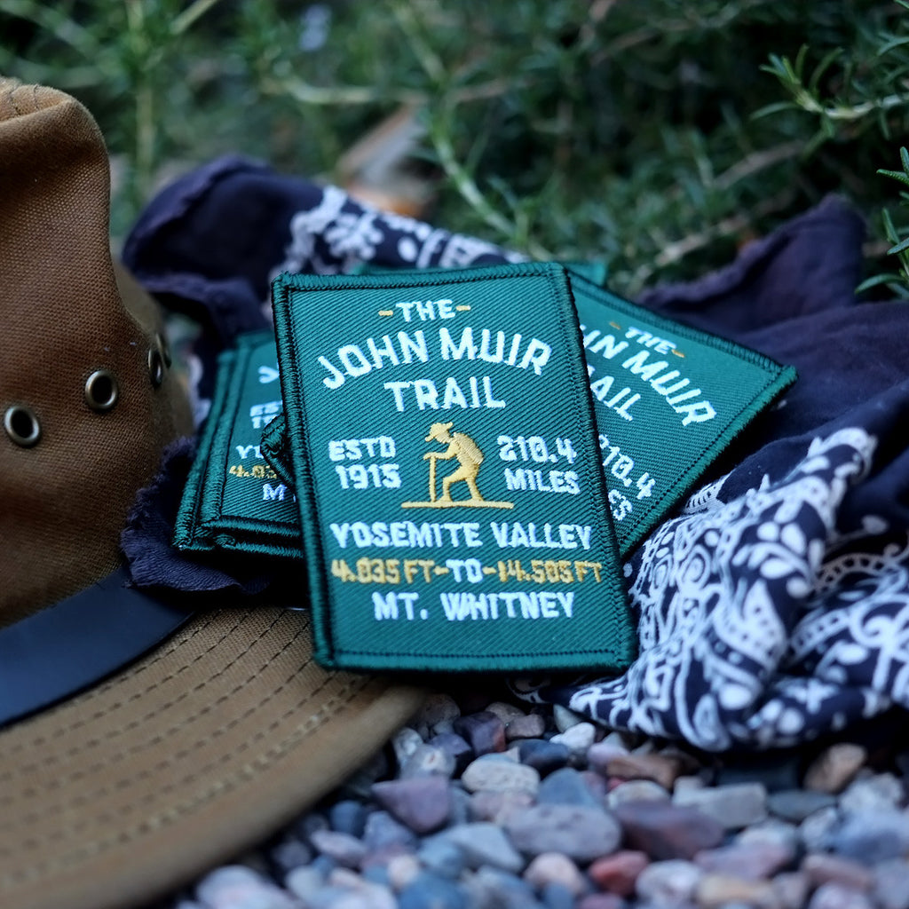 John Muir Trail Embroidered Patch