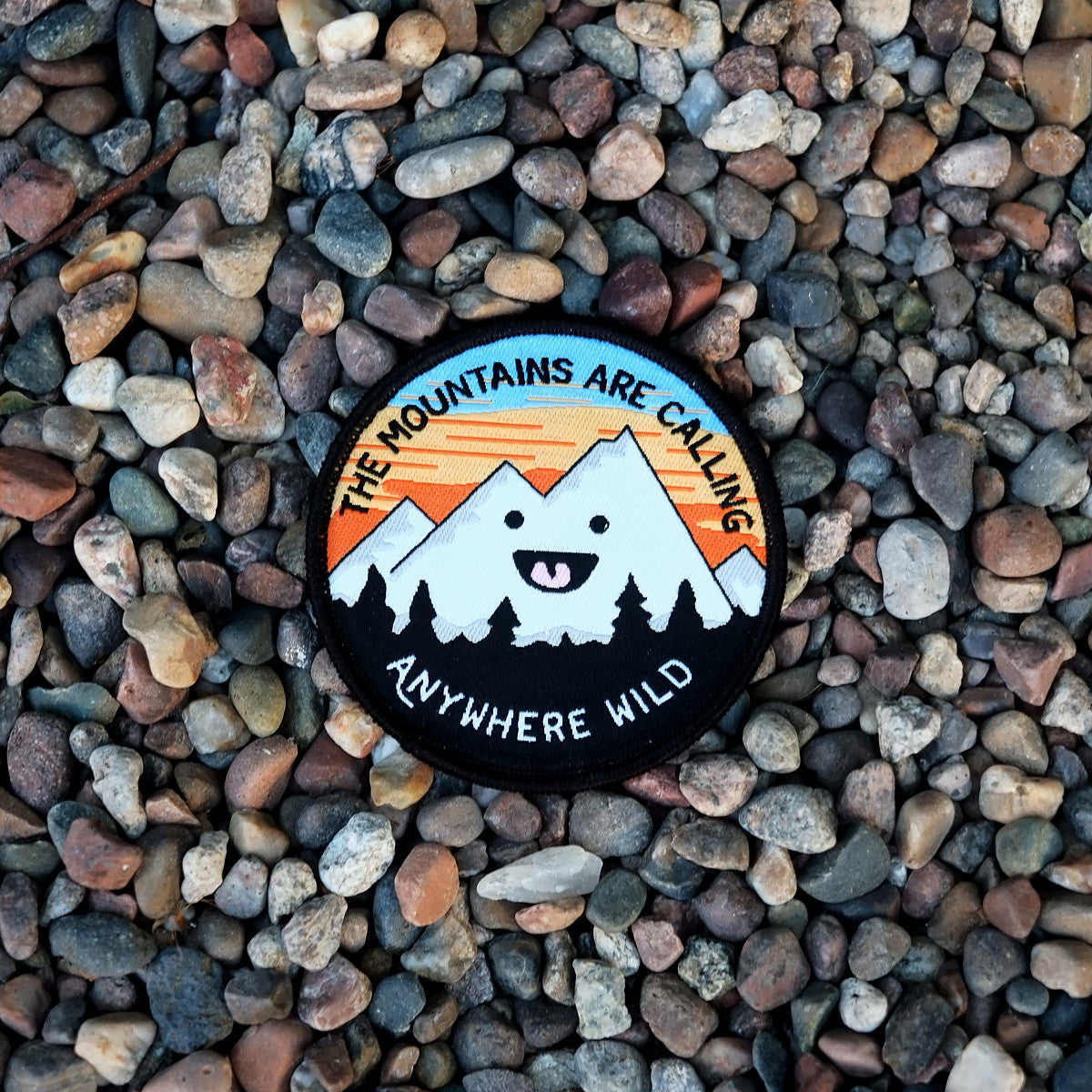 Mountains Are Calling Woven Patch