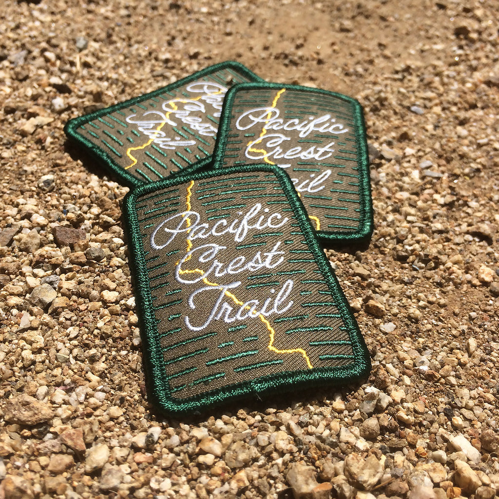 Pacific Crest Trail Embroidered Patch