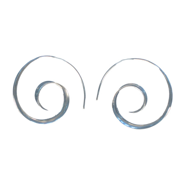 Coil Spiral Earrings - Pieces of Bali