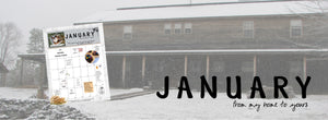 JANUARY :: A Month at Home with Marmee