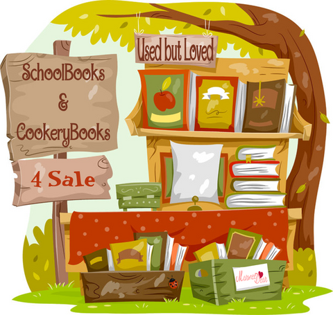 Used Home School & Cookery Books 4 Sale!