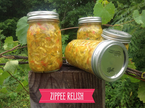 ZIPPEE SUMMER RELISH
