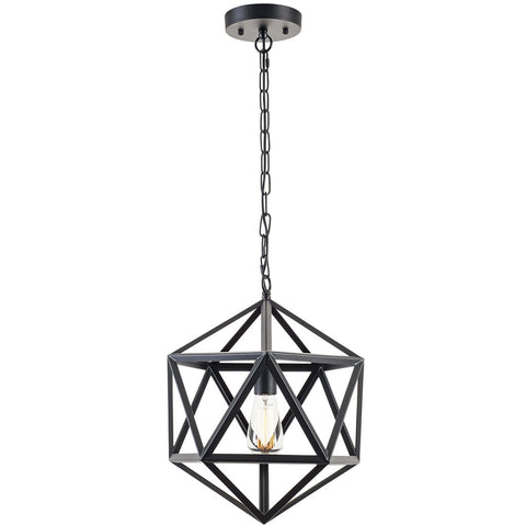 Geodesic Pendant Lamp