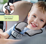 Enovoe Car Seat Strap Pads - 2 Pack