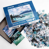 Enovoe 1000 Piece Adult Puzzle - an Evening in Vancouver