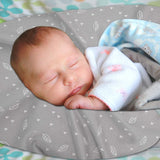 Enovoe Nursing Pillow Cover for Baby Girl and Boy - Gray