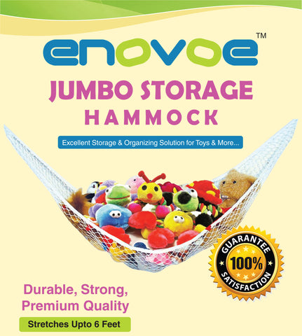 Jumbo Toy Storage Hammock