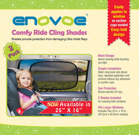 Comfy Ride Sun Shades ( X-Large ) - E-book