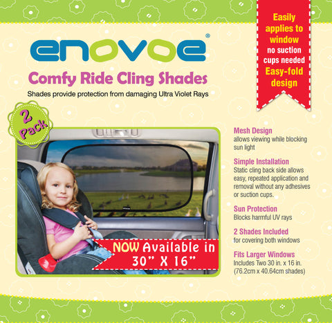 "Comfy Ride Sun Shade - XXL 30"" x 16"" - (2 Pack )"